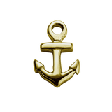 STOW Anchor (Strength) Charm - 9ct Yellow Gold