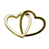 STOW Love Hearts (Together) Charm - 9ct Yellow Gold