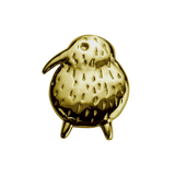 STOW Kiwi (Unique & Special) Charm - 9ct Yellow Gold