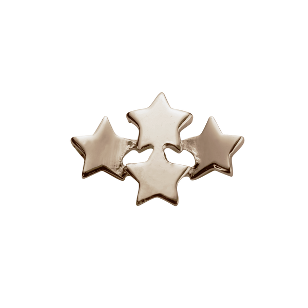 STOW Wishing Stars (My Dreams) Charm - 9ct Rose Gold