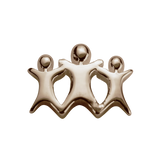 STOW Stowaways (My Family) Charm - 9ct Rose Gold