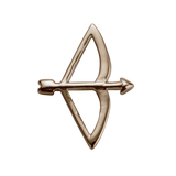 STOW Bow & Arrow (Beloved) Charm - 9ct Rose Gold