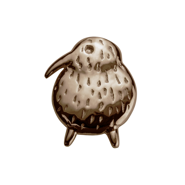 STOW Kiwi (Unique & Special) Charm - 9ct Rose Gold