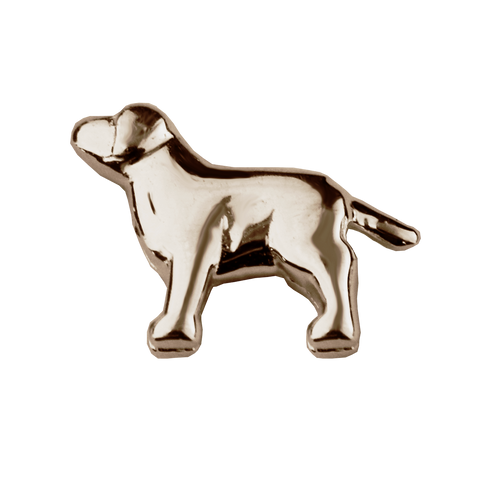STOW Dog (Trusted) Charm - 9ct Rose Gold