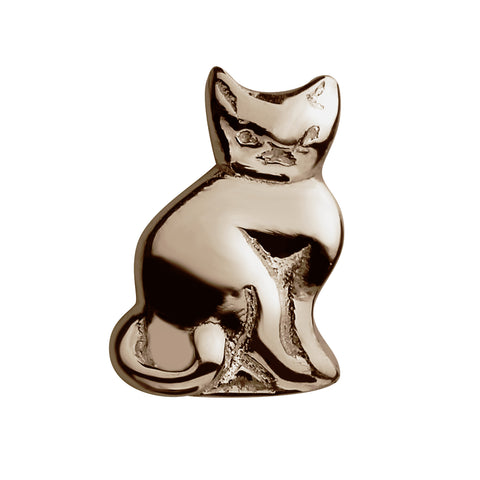 STOW Cat (Nine Lives) Charm - 9ct Rose Gold