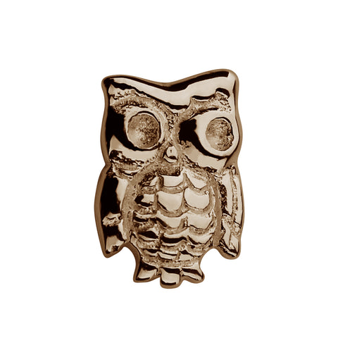 STOW Owl (Wise One) Charm - 9ct Rose Gold