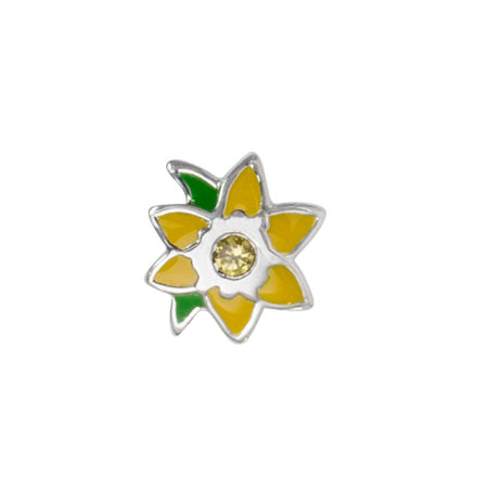 STOW March Daffodil (New Beginnings) Charm