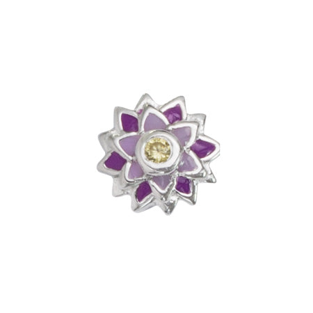 STOW July Water Lily (Peace) Charm