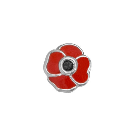 STOW August Poppy (Honour) Charm
