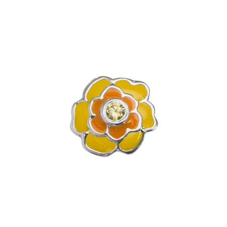 STOW October Marigold (Devotion) Charm