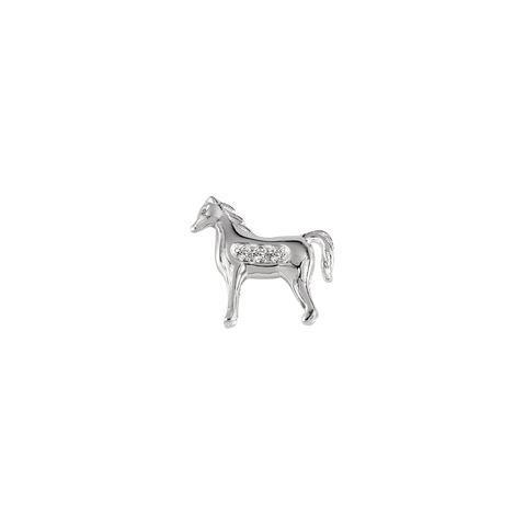 STOW Horse (Brave) Charm - Sterling Silver
