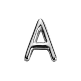 STOW Letter A Charm - Sterling Silver