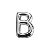 STOW Letter B Charm - Sterling Silver