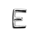 STOW Letter E Charm - Sterling Silver