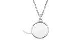 STOW Locket - Silver, Medium (20mm)