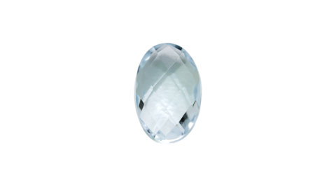 STOW Birthstone Charm - March - Aquamarine