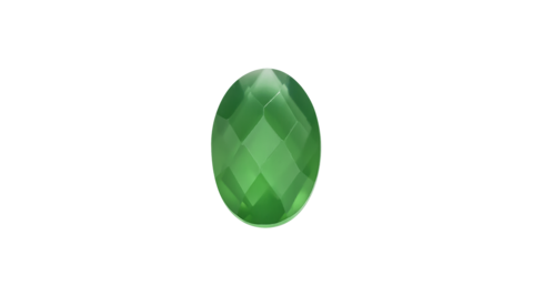 Birthstone - May - Green Onyx Stow Charm