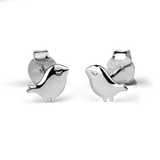 STOW Silver Stud Earrings - Little Bird (Cherished)