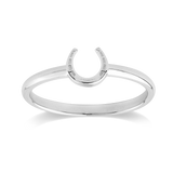 STOW Ring - Lucky Horseshoe (Good Luck) Size N