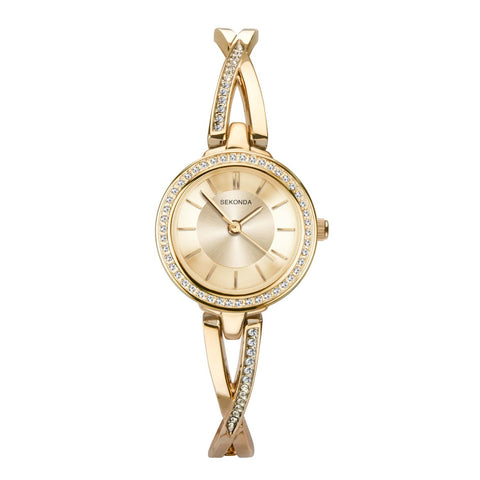 Sekonda Women's Gold Plated Dress Watch