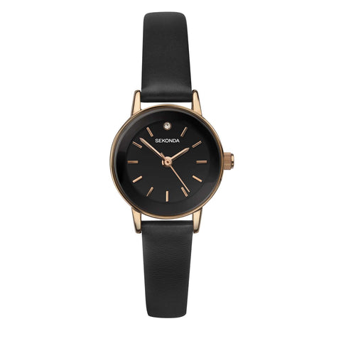 Sekonda Women's Rose Gold Plated Fashion Watch