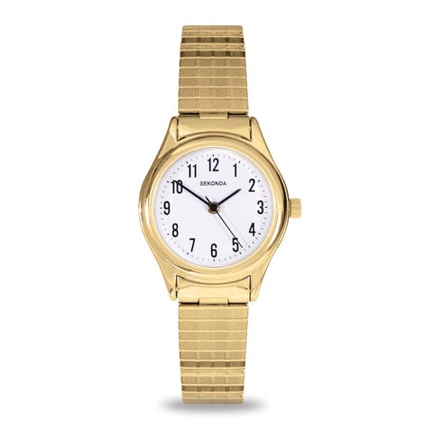 Sekonda Gold Coloured Ladies Expander Watch