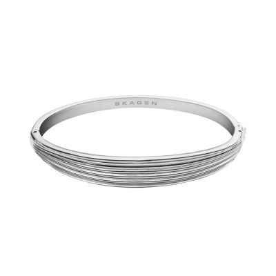 Skagen Ditte Stainless-Steel Bangle Women's Bracelet