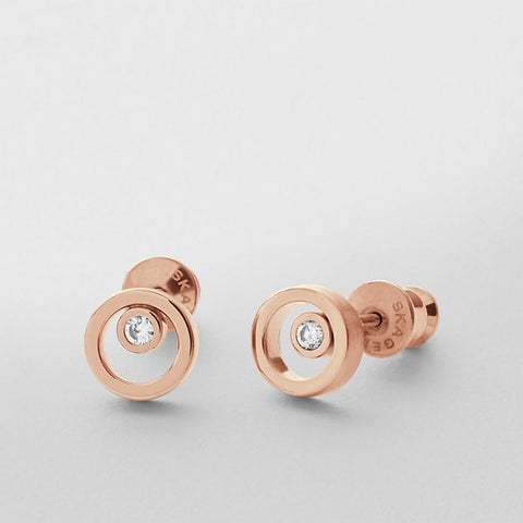 Skagen Jewellery Elin Crystal Circle Earrings - SKJ0853791