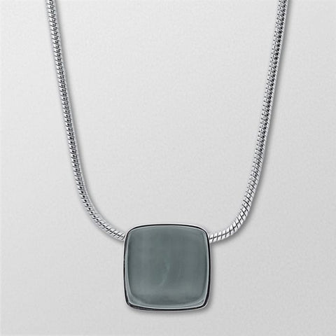 Skagen Jewellery Sea Glass Silver-Tone Necklace - SKJ0868040