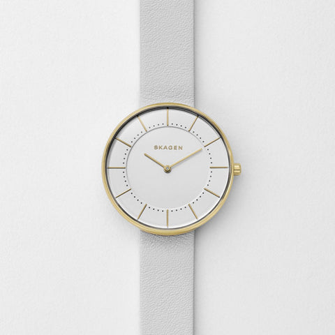 Skagen Gitte Leather Watch SKW2557