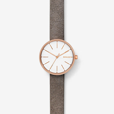 Skagen Signatur Leather Watch SKW2644