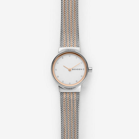 Skagen Freja Two-Tone Steel-Mesh Watch - SKW2699