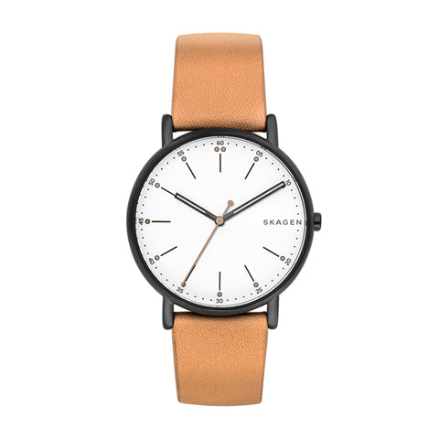 Skagen Signatur Leather Watch SKW6352