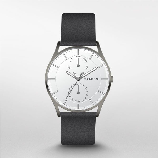 Skagen Holst Leather Multifunction Watch SKW6382
