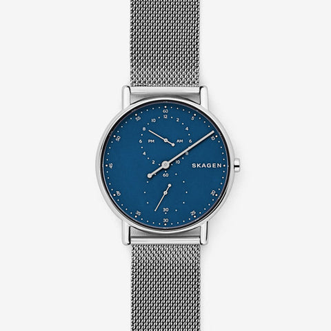 Skagen Signatur One-Hand Steel-Mesh Watch SKW6389