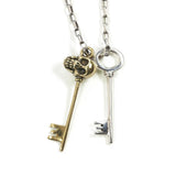NICK VON K SKELETON KEYS NECKLACE