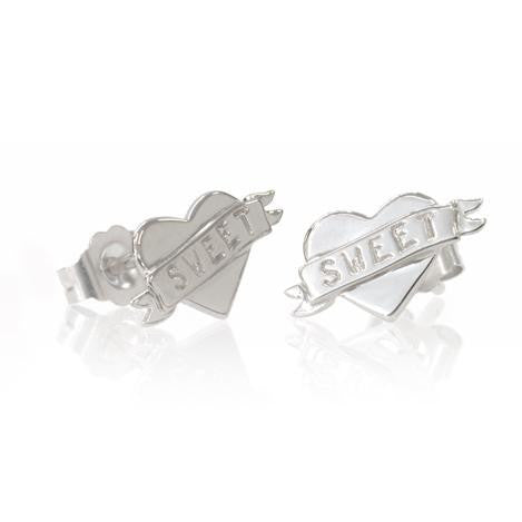 Boh Runga Small But Perfectly Formed Lil Sweetheart Studs