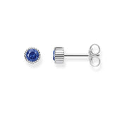 Thomas Sabo Spinel Blue Oxidised Studs - TH1957SA