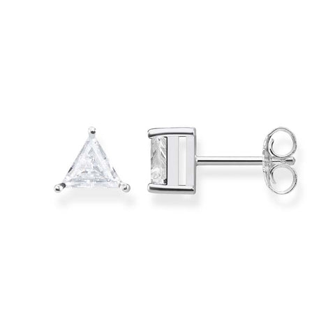 THOMAS SABO TRIANGLE CLAW SET CZ STUDS