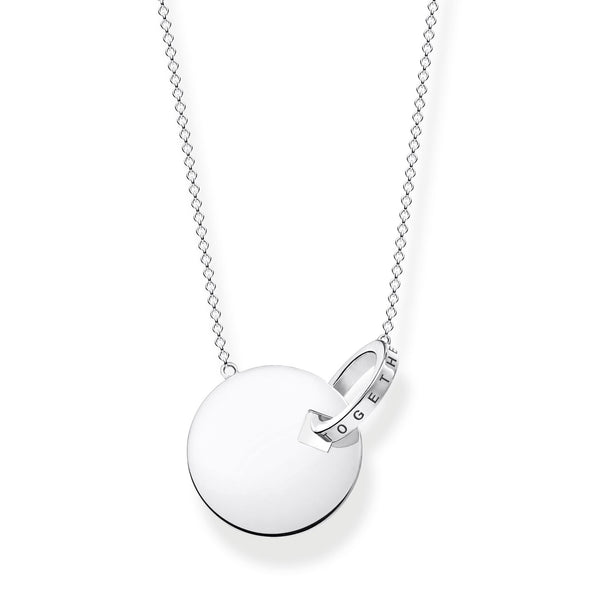 Thomas Sabo Sterling Silver together Forever Necklace