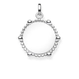 Thomas Sabo Engravable Beaded Disc - TLBPE0018