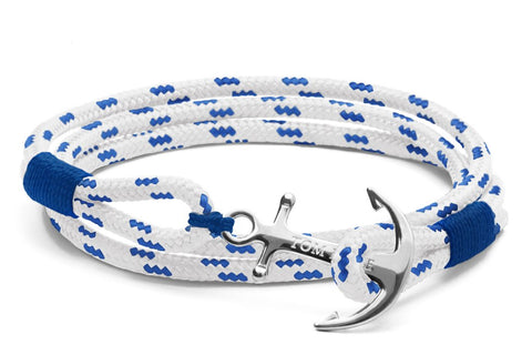 Tom Hope - Royal Blue Triple 3 Bracelet (Extra Small)