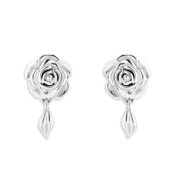MichaelJohn Jewellery Rose Stud Earrings - Short