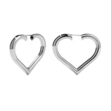 MEADOWLARK LOVE HOOPS - STERLING SILVER MEDIUM PAIR