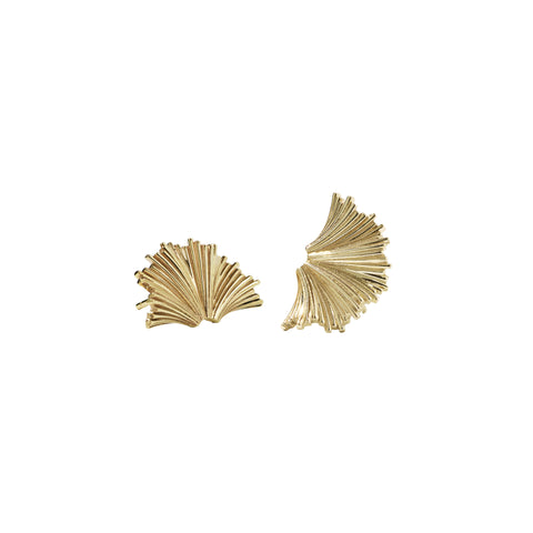 Meadowlark Vita Stud Earrings Medium - Gold Plated