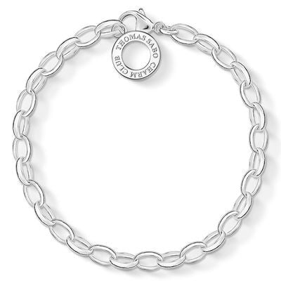 THOMAS SABO CHARM CLUB BRACELET - MEDIUM WEIGHT - 19.5CM