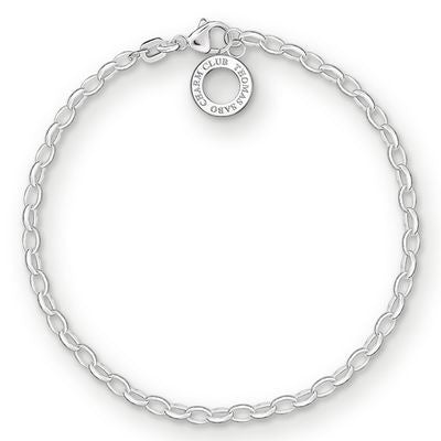 THOMAS SABO CHARM CLUB BRACELET - FINE WEIGHT - 19CM