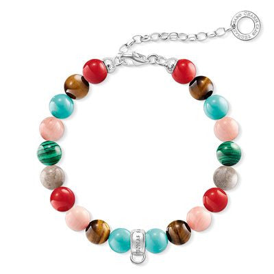THOMAS SABO CHARM CLUB MULTI COLOURED B/L 14.5-18