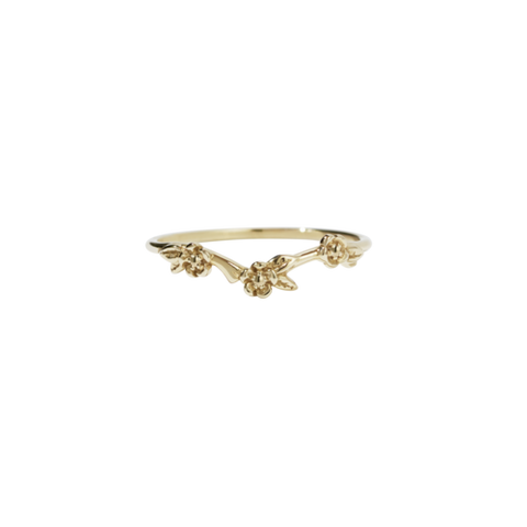 Meadowlark Alba Band - 9ct Yellow Gold