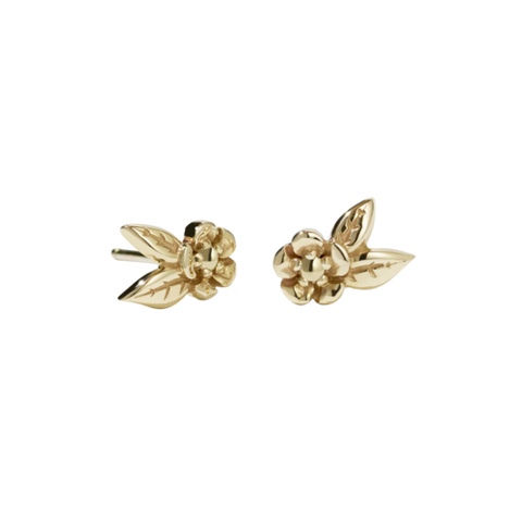 Meadowlark Alba Stud Earrings - Gold Plated